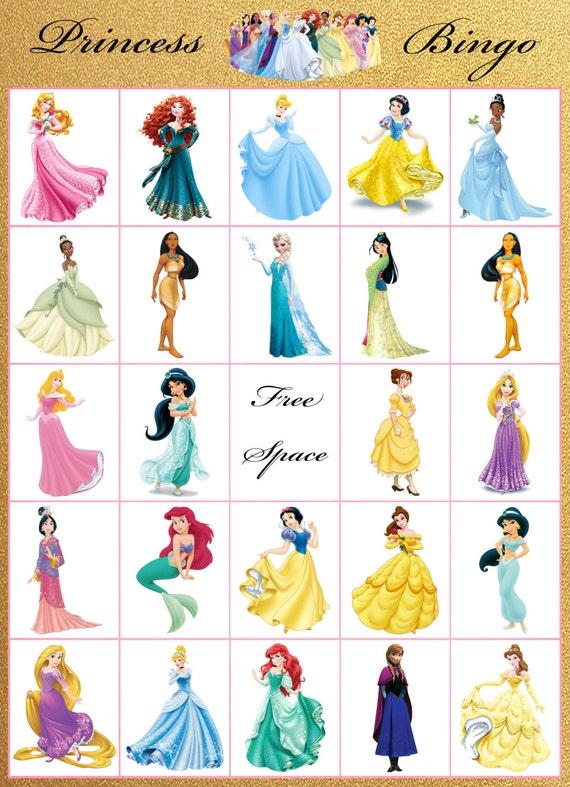 Princess Bingo Times