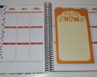 To Do List Dashboard for Erin Condren Life Planner Plum Paper Planner Do It Now or Remember It Later