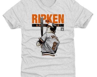 Cal Ripken Jr. Shirt | Baltimore Baseball | Men's Premium T Shirt | Cal Ripken Jr. Batters Box Baltimore