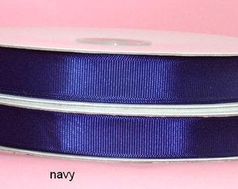 1.5 inch x 50 yds grosgrain ribbon - NAVY