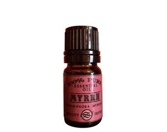 Myrrh CO2 Essential Oil, Commiphora myrrha, Ethiopia - 5 ml