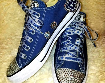dallas cowboys converse tennis shoes. 123 eacaf305e
