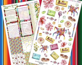 Mexican Goodies Yummy Planner Stickers