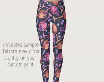 Wine Leggings, Yoga Pants, Grapes, alcohol, beverage, vino, winery, white, red, fruit, rose, mead, Drinking, Glass, Sommelier XS-XL Wine 3