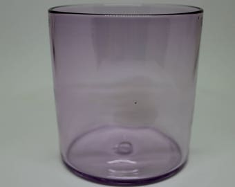 Purple Dimple Whiskey Glass