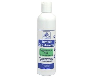 Aromatherapy Dog Shampoo - Peppermint Pup for dogs less than 45 lbs