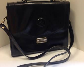 Black leather Chiltern shoulder bag