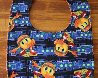 Pac-Man Bib