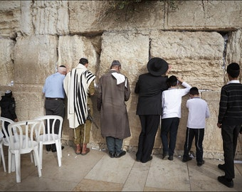 The Western Wall - The Old City of Jerusalem - Color Photo Print - Fine Art Photography (IS33)