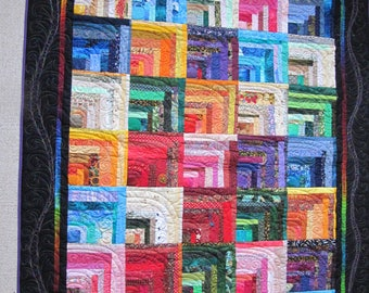 Colourful quilt