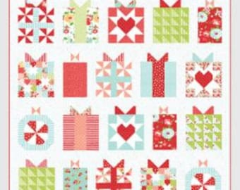 Handmade with Love Quilt Pattern by Thimble Blossoms for Moda Fabrics