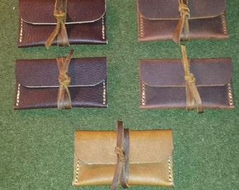 Oil Tanned Cowhide Leather Case (Listing is for one!)
