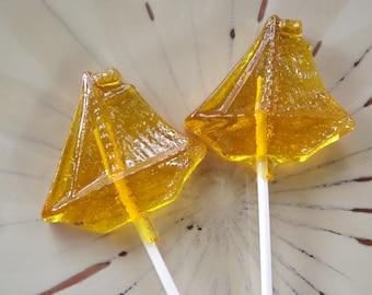 12 Sailboat Boat Lollipops Ocean Sucker Party Favor Candy