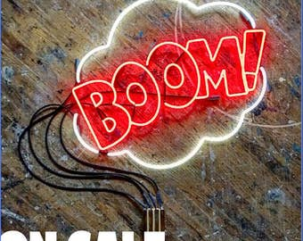 BOOM! Neon Sign, Ready-made ON SALE