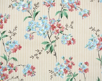 1930s Vintage Wallpaper By The Yard