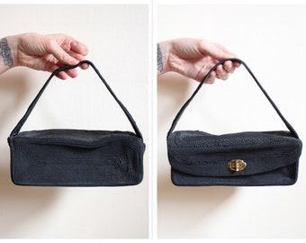 1940s Purse // Small Rayon Cordé Purse // vintage 40s purse