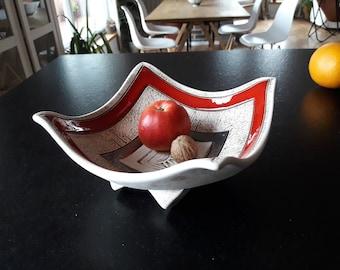 Handmade Ceramic Fruit Bowl, Ceramic Fruit Bowl, Wedding Gift, Pottery Fruit Bowl, Bowl, Unique Fruit Bowl, Ceramics and Pottery, Art Bowl