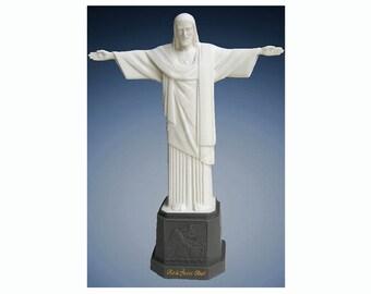 Christ the Redeemer Statue Resin Jesus Rio de Janeiro Original Brazil RJ
