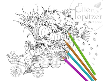 Coloring Page - Colorfall