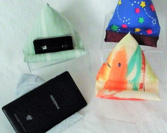 Tablet - Kindle Book Cushion, Phone Pillow, Smart Phone Holder, Cell Phone Pillow, Phone Stand, iphone Holder, Tablet Stand, Gift