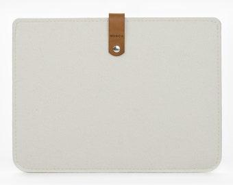 iPad Air Sleeve - iPad Air Case - iPad Cover - iPad Case - Felt Leather Case