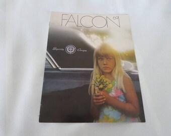 1969 Ford Falcon Sales Brochure Catalog Coupe Sedan Wagon