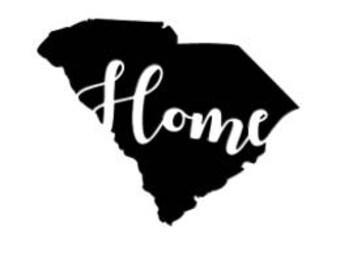 South Carolina Home Decal