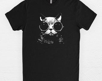 Cat Shirt - Cat T Shirt - I love cats - Cats - Gifts Under 25