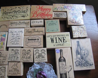 rubber stamps (20)