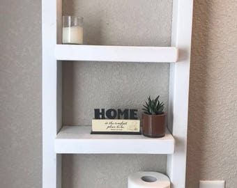 Rustic Rope Hanging Shelf