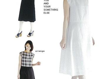 M169 Adult Flared 2 Sleeve Dress M Pattern - Japanese M Pattern