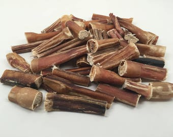Bully Stick Bites 1LB Pack, Top Dog Chews, Low Odor, MADE in USA USDA Approved.