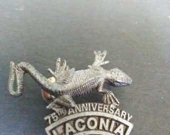 Vintage 1998 75th Anniversary Laconia Lizard/ Gecko Hat Pin