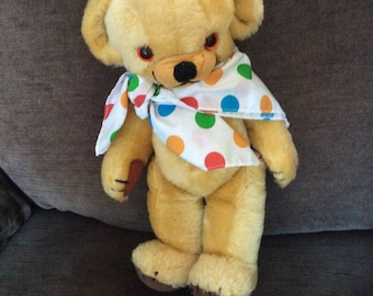 Vintage mohair Merrythought Cheeky bear