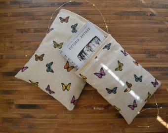 Butterflies booksleeve_hardcover booksleeve paperback_magic booksleeve_book cozy_bibliophile gift_bookaholic_bookaddict_reader_cute ya read