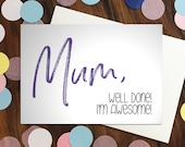 Mothers Day card - 'M...