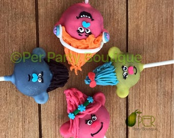 Trolls Cake Pops