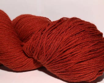 100% Wool Yarn , Fingering 3ply, dk, Mega-Yardage, Kauni Yarn Wine Red