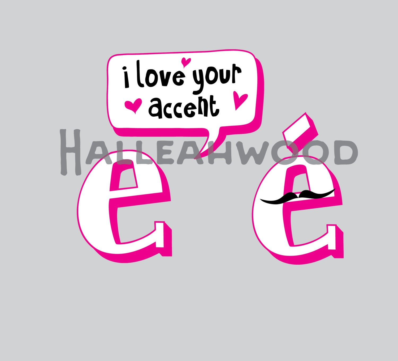 I love your accent DIGITAL DESIGN