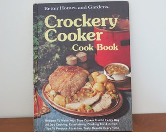 Better Homes and Gardens Crockery Cooker Cook Book Hardcover – January 1, 1976