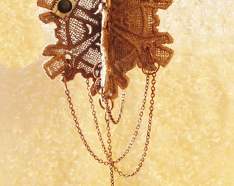 Steampunk Christmas Ornament - Steampunk Fans will want this on their Steampunk Christmas Tree