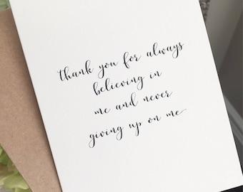 Thank you mentor etsy thank you cardappreciation cardthank you parents cardthank you mentor card altavistaventures Images
