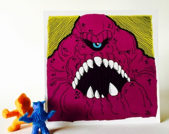 Purple Cyclops Monster 4x4