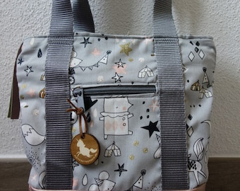 RuckTa for kids (backpack bag, two in one)