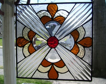 Stained Glass Kev Art deco catcher