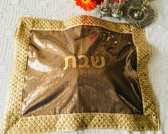 Challah cover handmade design meaningful and beautiful Jewish gift