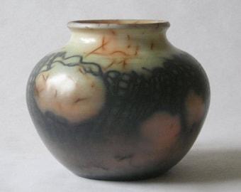 saggar fired ceramic vessel 17-038
