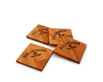 Goldfinger Coasters
