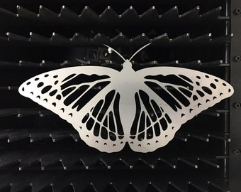 Large unique stainless steel butterfly home garden decor