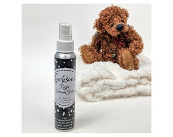 Kids Room or Linen Spray, Personalized Gift, Aromatherapy Spray, Essential Oils, All Natural, Lavender, Orange, Bergamot, Kids Gift, Baby